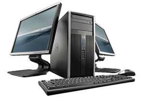 PC-Workstation-Computer-Desktop-Rechner-System
